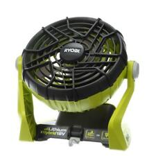 Ryobi ONE+ 18-Volt Hybrid Portable Fan Tool Only Electric Cordless Home Cooling