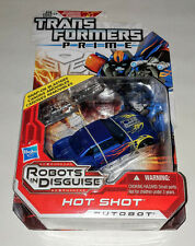 Transformers Hot Shot HOTSHOT Prime RID Robots in Disguise NIB Age 5+ 2011 issue