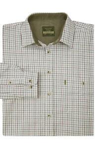 Walker and Hawkes - Men's Long Sleeve Check Shirt - Cotton