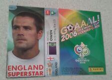 FIFA 2006 World Cup England MICHAEL OWEN Panini Trading Card