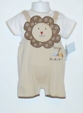 """Messages from the Heart Infant Boys Two (2) Piece """"My Mane Man"""" Short Set 6-9M"""