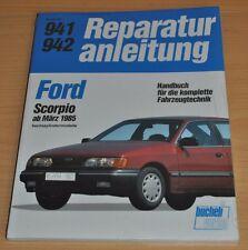 FORD Scorpio Sechszylinder V6 ab 1985 Motor Reparaturanleitung B941 OVP