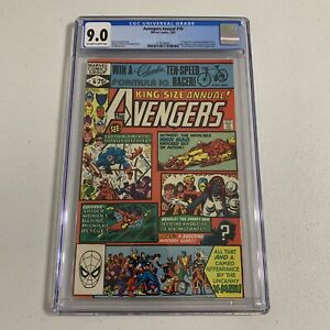 Avengers Annual #10 CGC 9.0 1981 1st Rogue and Madelyn Pryor Key Issue King Size