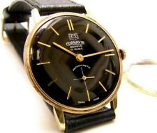 Rare Gold Plated CORNAVIN GENEVE  Swiss watch from the 1960s | The Swiss Beauty