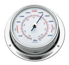 SHIP Barometer Modern BARIGO Stainless Steel 110mm