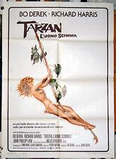 manifesto 2F film TARZAN THE APE MAN - L'UOMO SCIMMIA John Bo Derek 1981