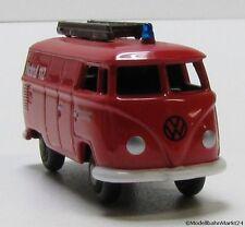 BUB VW Transporter Feuerwehr Notruf 112 Maßstab 1:87