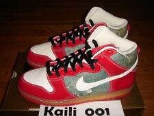 Nike Dunk High Premium SB Size 11.5 Shoe Goo 313171-012 Skunk Supreme blazers B