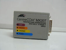 ALLIED TELESIS MX20T TWISTED PAIR TRANSCEIVER 10 BASE