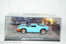 JAMES BOND 007 DIE ANOTHER DAY FORD GT40 GT 40 MIB RARE SELTEN