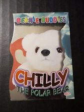 Ty Beanie Babies Series Iv S4 Orange ~ Bboc Card 287 Chilly Buddies Puzzle Half