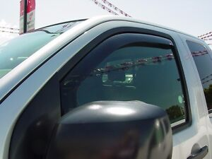 In-Channel Wind Deflectors for 2005 - 2020 Nissan Frontier King Cab