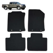 Tacoma Custom Fit Floor Mat for 2005 to 2013 Exact Fit OEM Replacement 4 PCS
