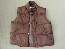 Timberland Men's Stratham Authentic Outdoor Winter VEST Brown Size XL