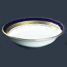 "COBALT ROYALE Aynsley Fruit Saucer 5"" diameter NEW NEVER USED 24kt gold England"