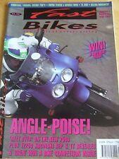 FAST BIKES MAGAZINE JUL 1991 KAWASAKI YAMAHA SUZUKI SUPER TENERE AFRICA TWIN GIL