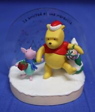 Winnie the Pooh Piglet Amigos de Verdad Disney Hallmark Ornament 2005 Spanish