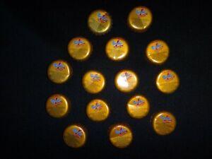 Collection Of 15 Vietnam NUMBER #1 ENERGY DRINK Soda Metal Crown Bottle Caps