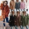 Fluffy Fleece Fur Coat Women Hoodies Jacket Wrap Fashion Winter Warm Outerwear