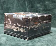 MAGIC THE GATHERING MTG DARKSTEEL DECK BOX W/ SLEEVES CASE FACTORY SEALED BOX