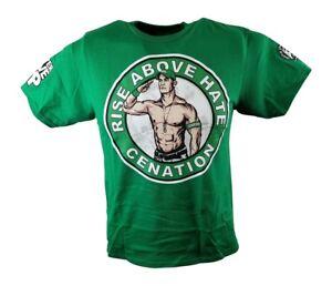 John Cena Green Kids Salute the Cenation T-shirt Boys