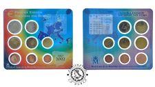 LADOBLA - Set - Cartera Oficial FNMT 2002 - EUROS - SC - Juan Carlos I - España