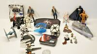 Star Wars Toy Lot  of Items Variety Of Action Figures Tin