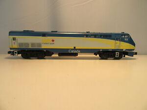 MTH 20-20302-1 O Scale Via Canada Genesis Diesel Locomotive w/Proto-Sound 3 New!