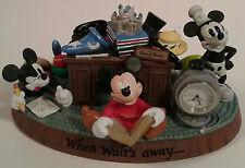 Mickey Maus Schreibtisch Uhr Wenn Walt's Weg Park exklusive 4 GENERATIONS Disney