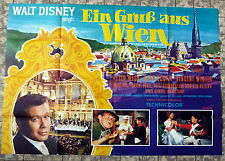 WALT DISNEY * EIN GRUSS AUS WIEN - A0-FILMPOSTER EA - Wiener Sängerknaben 1965