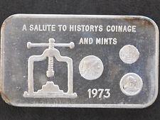 1973 Coin Press Silver Art Bar MLM-24 Mother Lode Mint P1511