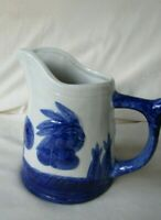 Vintage  Sleepy Eye  Indian Head 6 in tall Pitcher Great Condition