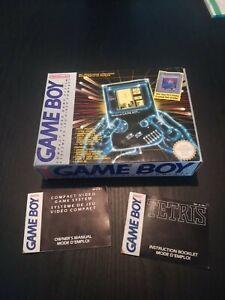Nintendo Game Boy Pack Tetris Boîte Et Notice Sans Console Sans Poly