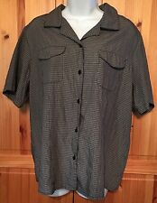 Croft And Barrow Women's Large Short Sleeve Action Top New W/O Tags
