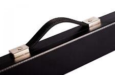 PowerGlide Snooker & Pool Accessories Black Attache Style 2 Piece Cue Case