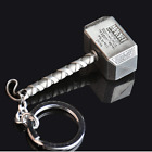 Fashion Marvel The Avengers Thor Thor's Hammer Metal Keyring Keychain Silver