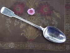 Antique Victorian Silver STUFFING SPOON James Dixon Sheffield England 1800s