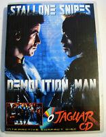 Rare DEMOLITION MAN Atari JAGUAR CD Game Demo Prototype for collectors
