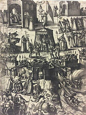 A. Hubert 1587 Protestant Hérétique Calviniste Huguenot Catholique Angleterre