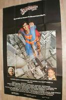 XXL Filmplakat  SUPERMAN - DER FILM, CHRISTOPHER REEVE,MARLON BRANDO