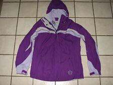 Columbia Vertex Purple Girls Shell Waterproof Jacket 14 - 16 L Large Gore Tex
