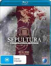 Sepultura & Tamboursdubronx - Blu Ray - Metal Veins Alive at Rock in Rio, Brazil
