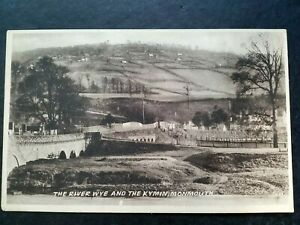 Monmouth, Monmouthshire, Vintage 1920s? Postcard,The Kymin.