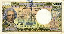 06 Tahiti Papeete P28d 5000 Francs 1985  Z2