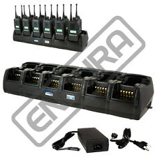 Endura 12 Unit Gang Charger for Kenwood NX200 TK2180 NX300 TK3180 NX410