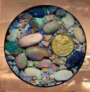 Australian Opal Cutters Seconds & Chips Parcel  05 30 03 21