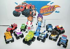 Blaze and the Monster Machines Figure Set of 13 with Blaze, AJ, Zeg and More!