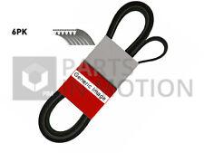 RENAULT CLIO Mk2, Mk3, Mk4 6 Rib Multi V Drive Belt 1.4 1.6 2.0 1.5D 2000 on New