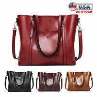 Women Bag Satchel Hobo Top Handle Tote Shoulder Purse Leather Crossbody Handbag