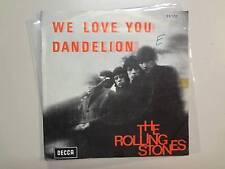 "ROLLING STONES:Dandelion 3:56-We Love You 4:39-Belgium 7"" Decca Record 26.132PSL"
